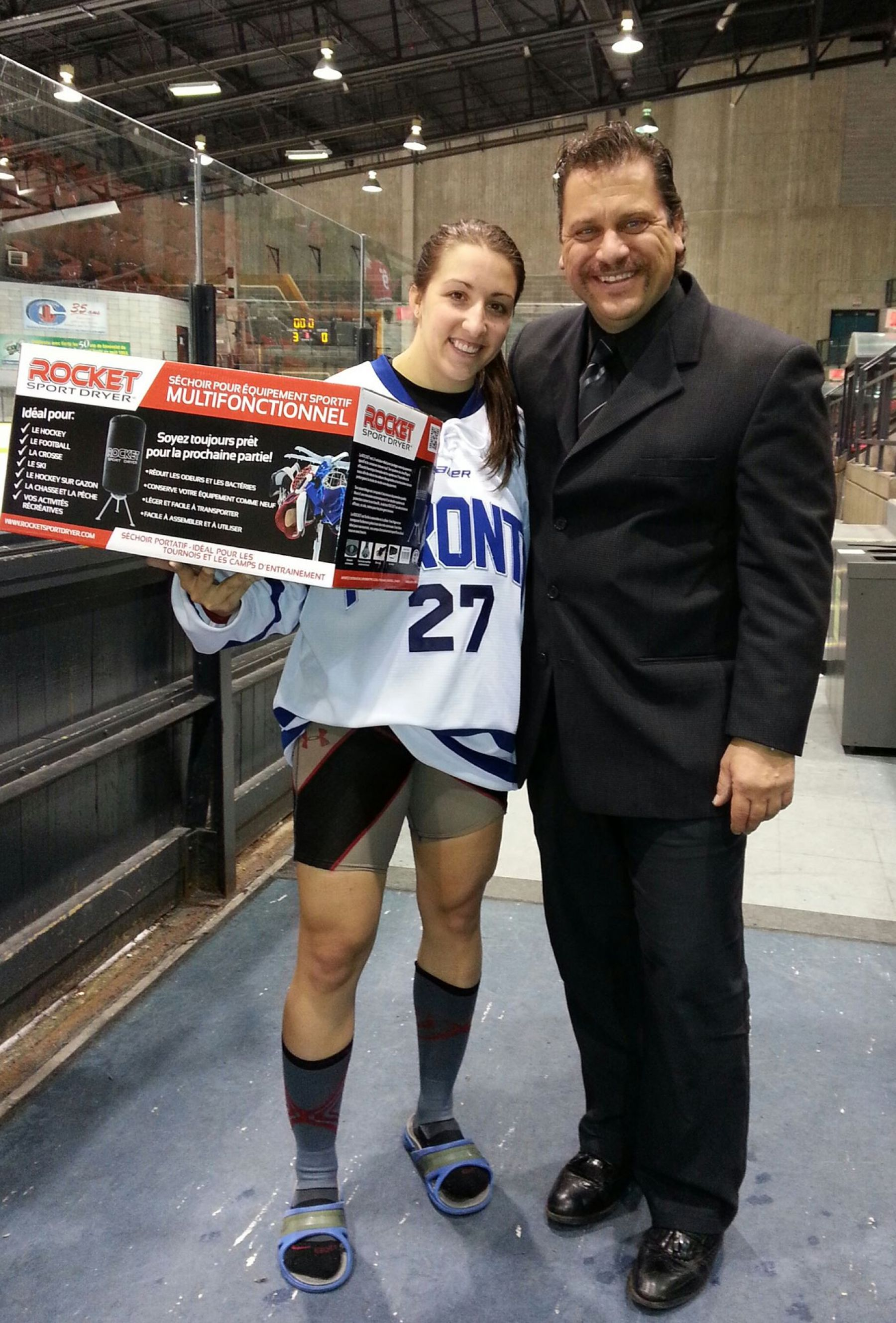 ROCKET Dryer Meets #27 of Toronto Furies